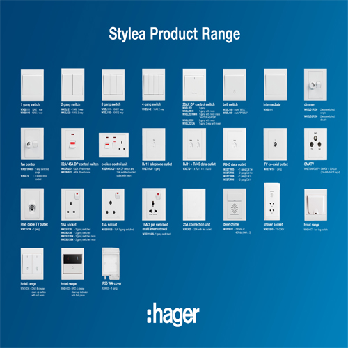 Wiring & Accessories Hager